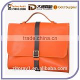 Custom Lady Leather Briefcase For Women