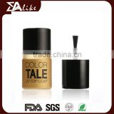 Acrylic one step gel thermal oil based top coat nail polish private label