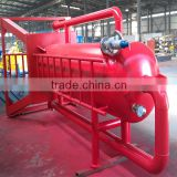 rock drill oil mud gas separator for wellhead mud