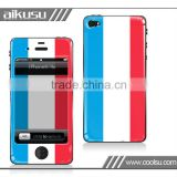 Flag series for iphone4(s) 3d sticker with 3m print material