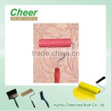 decorative paint roller, paint roller textured roller/paint rollers with designs,/wallpaper paint roller, paint roller