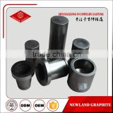 high pure graphite crucible for gold melting furnace