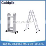 3.7m Goldgile Aluminium Multi-Purpose Ladder aluminium stair portable cat ladder combination ladder