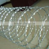 High safety Low Price razor barded wire mesh / Hebei manufacturer BTO-22 Razor barbed wire /galvanized & PVC coated razor barbed