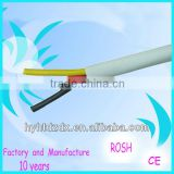 PVC insulation&sheath 3 core flat power cable