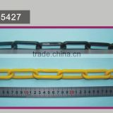 8mm Plastic Warning Chain,Road Safety Plastic Barricading Chain