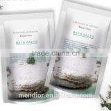 Organic Dead sea salt scrub deep clean anti-acne remove Gallinaceous skin bath salt custom brand