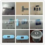 Muller parts,KY parts --(shaft,pulley,roller holder,reed,needle seat,alu beam,lock block