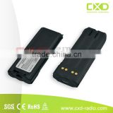 Full battery capacity Ni Mh 1800mAh rechargeable battery pack XTS3000 battery for 2 way radio