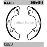 Japan auto spare parts k4462 for Isuzu rear haldex brake shoes