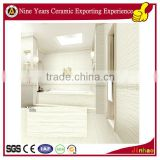 Decorative ceramic bathroom wall tile borders