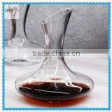 Wholesale Hand blown single wine glass bottle