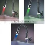 luxury led kitchen water tap color changing water tap