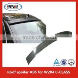 ABS Unpainted Grey Rear Trunk Spoiler Wing Lip For B ENZ C W204 carbon fiber