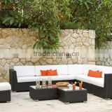 Wicker Rattan Design Sectional Garden Sofa Set - Patio Outdoor Garden sofa set Furntiure
