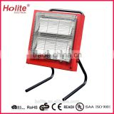 220-240V 2x1400W portable ceramic infrared heater home heater with CE RoHs UL