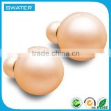 Factory Direct Pearl Earrings Double Balls