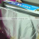 Jumbo Roll Aluminium Household Foil 10 microns with SGS certificate factory price good quality