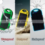 travel set 5000mah Solar energy power bank factory outlets center