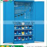 TJG-CW07 Taiwan Metal Garage Cabinets Storage Tools With 4 Shelves For Sale