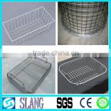 Alibaba China stainless steel welded wire mesh home depot baskets with free sample/stainless steel wire mesh baskets