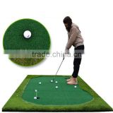 Mini-golf mat Artificial grass for Putting green with Nylon material