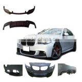 Carbon Fiber diffuser spoiler and front lip spoiler for bmw F10 V style