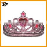 factory wholesale cheap mini rhinestone star tiara crown