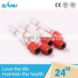 sterile custom glass blood colection clot activator instrument tube , blood clots instrument