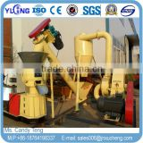 Small Capacity Homeuse Straw / Soft Wood Pellet Making Machine for House Heating with CE and ISO Certificates