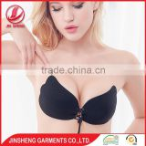 2016 Fashion hot selling lady underwear beautiful design sexy bra with adjustable rope