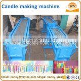 Semi-automatic wax candle making machine candle machine candle forming machine