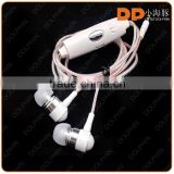 new products 2016 noise cancelling glow earbuds ear piece 3.5mm EL wired glowing headphone EL earphone