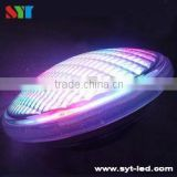 High brightness RGB glass 54W 12v ip68 pool lamp spa/pond/fountain par56 dmx led underwater light