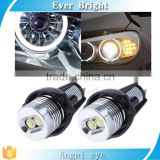 Hot selling product 2Pcs Angel Eyes headlights Car Auto Bridgelux chips LED Light For B-MW angel eyes E90 Sedan angel eyes