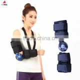 CE/FDA Approval orthopedic arm elbow immobilizer Rom Elbow Brace hinge elbow support With Arm Sling