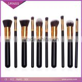 2015 rose golden best professional makeup brushes wholesale