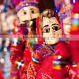 Puppet and Doll Indian Traditional cultured Puppets and Dolls