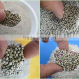 2014 high quality colored bentonite cat litter bulk