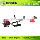 25cc Side Hang Gasoline Brush Trimmer CG25 with HONDA GX25 Engine (BC25S)