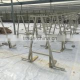 PVC Hydroponic Channels 100mmx50mm for crops