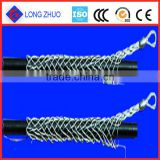 Galvanized steel cable pulling sock