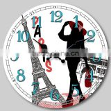 12 inches MDF wall clock