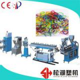International standard TPU/TPR/SBS rubber band extrusion line oversea service is available