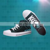 High Quality Hatsune Miku Cartonon Canvas Shoes Cosplay Anime Shoes