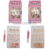 Fashion Artificial Fingernails Nail Tips,French Nail Art Tips for Clear Acrylic Nail Polish