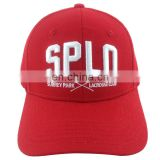 OEM/ODM design 3D embroidery 100% cotton golf caps / baseball cap