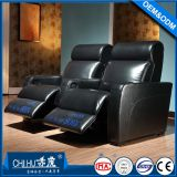 Special use and genuine leather theater furniture,commercial cinema sofa