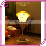 Wholesale Hot Selling LED night lights Cute Scarecrow Nursery Night Lamp, Romantic Dim Mood Lamp