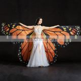 BestDance Egyptian Belly Dance Costume Isis wings Butterfly Angel Isis Wings Belly Dancer Rainbow Isis Wings OEM